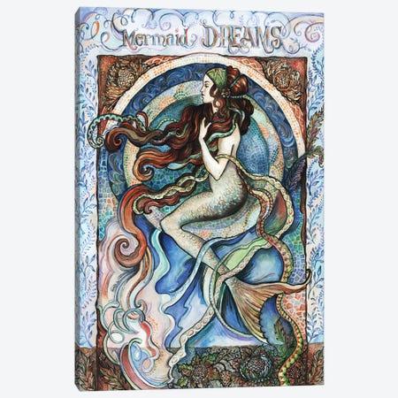 Mermaid Dreams Canvas Print #FPT31} by Fanitsa Petrou Art Print