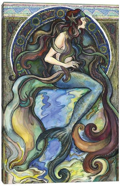 Under The Sea - A Mermaid I Canvas Art Print