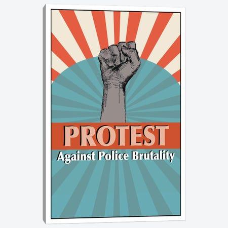Protest Art Canvas Print #FPT345} by Fanitsa Petrou Canvas Art
