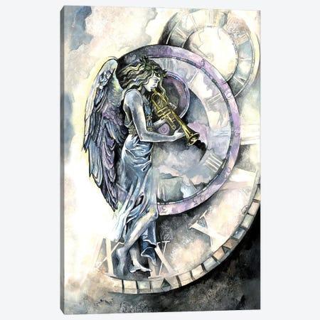 Angel Of Time Canvas Print #FPT47} by Fanitsa Petrou Canvas Art Print