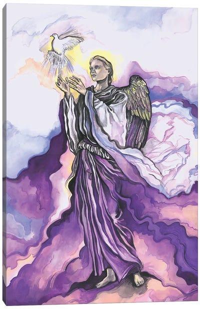 The Seven Archangels - Archangel Uriel Canvas Art Print