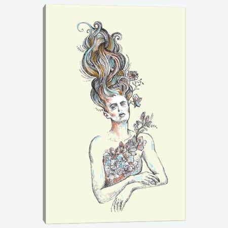 Fairy Hair Canvas Print #FPT51} by Fanitsa Petrou Art Print