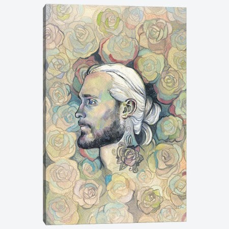 Rose Tattoo - Hipster Chic Canvas Print #FPT62} by Fanitsa Petrou Canvas Art