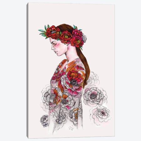 Flower Crown - Boho Chic Canvas Print #FPT68} by Fanitsa Petrou Canvas Art
