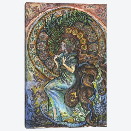 La Vie En Rose I Canvas Print #FPT6} by Fanitsa Petrou Canvas Print