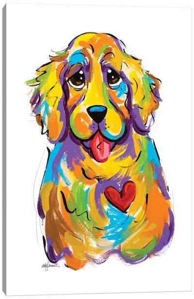 Goldiechops Canvas Art Print