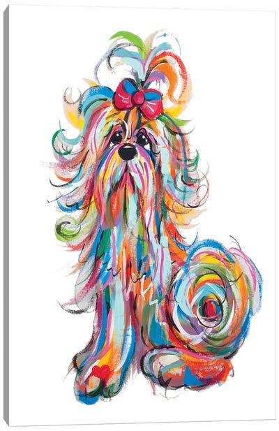 Paddie Tickles Canvas Art Print