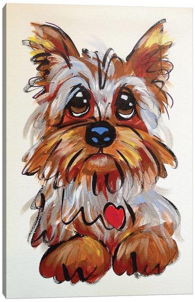 Wheaton Terrier Canvas Art Print