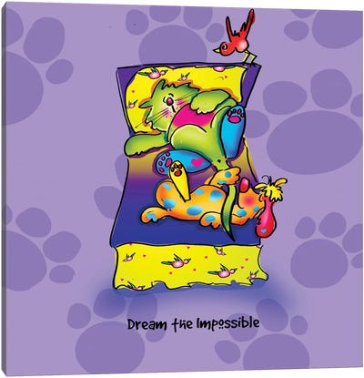 Dream The Impossible Canvas Art Print