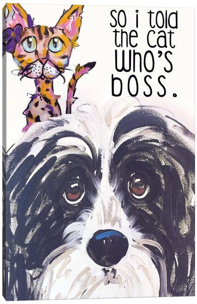 Boss Canvas Art Print