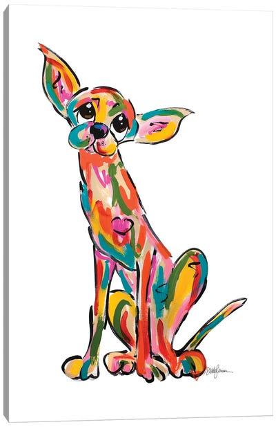 Street Dog I Canvas Art Print