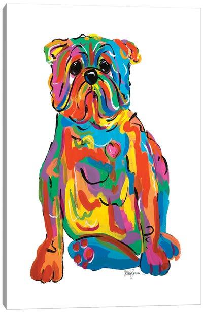Mr. Dog Canvas Art Print
