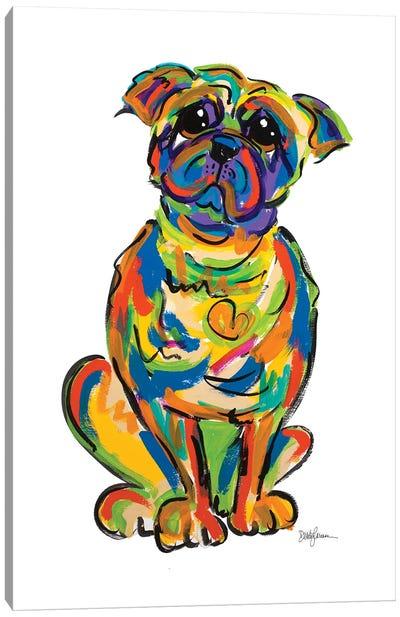 Boxer Boy Canvas Art Print