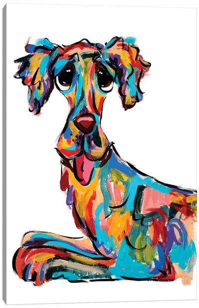 Tongue Out Canvas Art Print