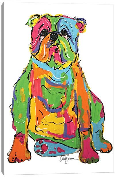 Bully Rumples Canvas Art Print