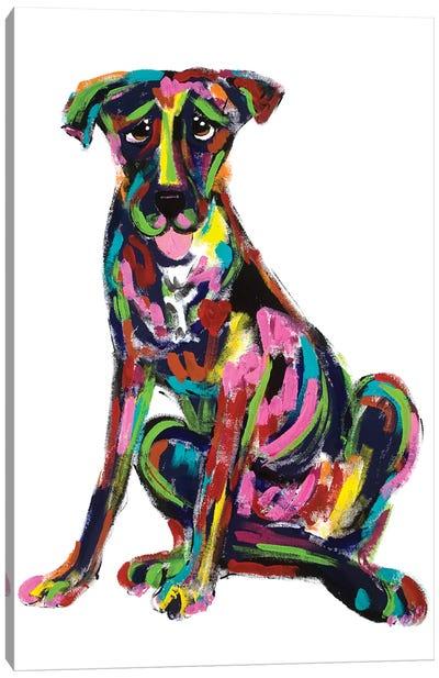 Inside Dog Canvas Art Print