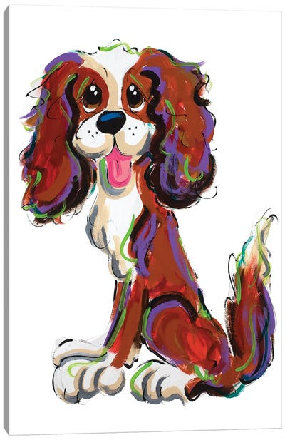 Sassy Cavalier Canvas Art Print