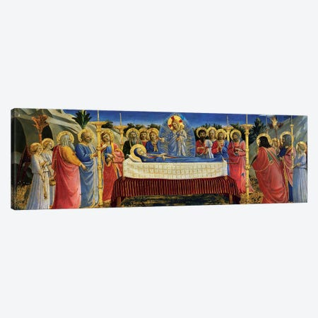 Death Of The Virgin, c.1432 Canvas Print #FRA21} by Fra Angelico Canvas Art