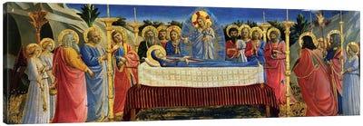 Death Of The Virgin, c.1432 Canvas Art Print