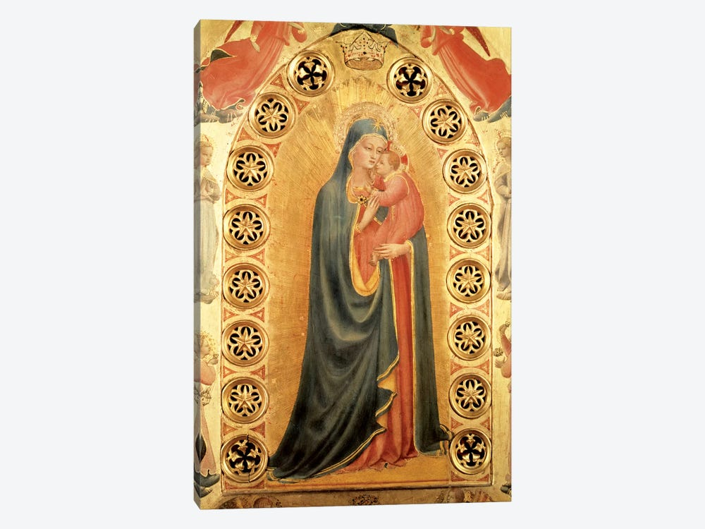 Madonna of the Stars   by Fra Angelico 1-piece Art Print