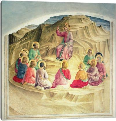 The Sermon on the Mount, 1442  Canvas Art Print