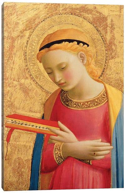 Virgin Annunciate, 1450-55   Canvas Art Print