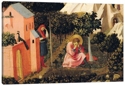 The Conversion Of St. Augustine (Musée Thomas-Henry) Canvas Art Print