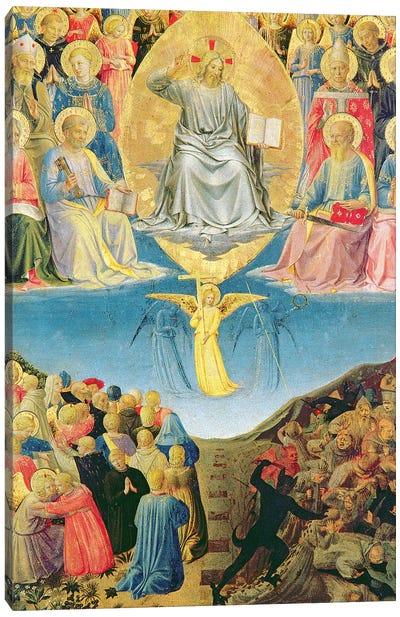 Detail Of Last Judgement, Palazzo Barberini Triptych Canvas Art Print
