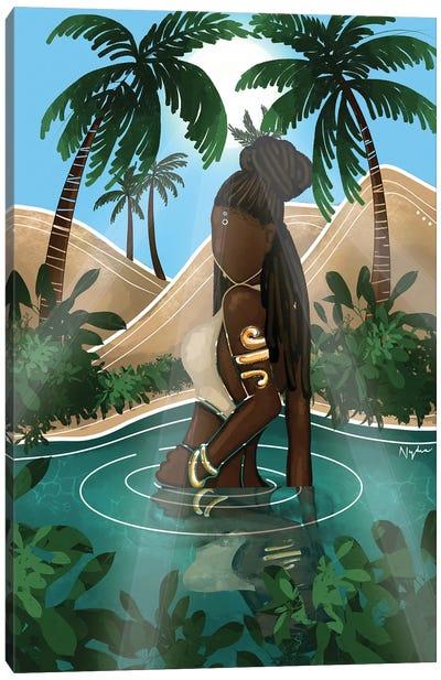 Oasis Goddess Canvas Art Print