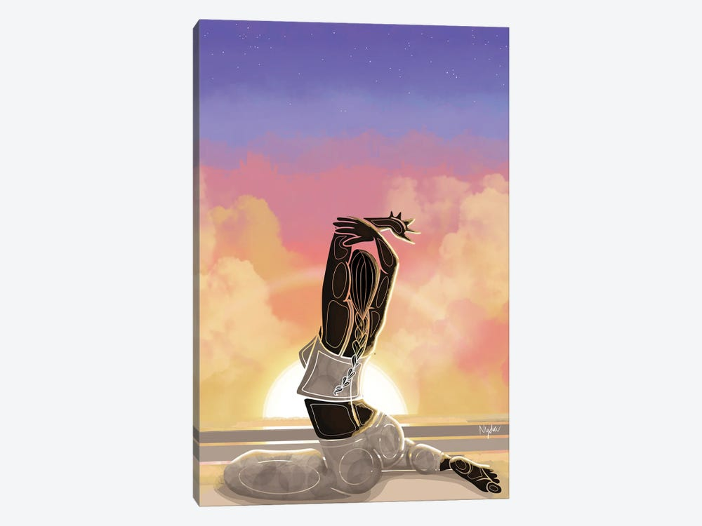 Rise & Shine by Colored Afros Art 1-piece Art Print