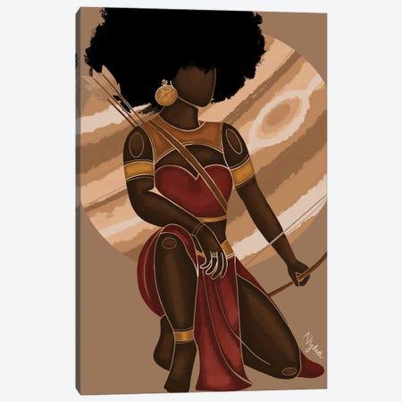 Sagittarius Canvas Print #FRC15} by Colored Afros Art Canvas Art