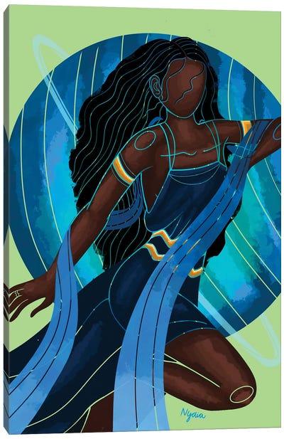 Aquarius Canvas Art Print
