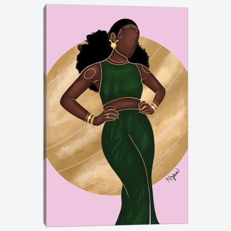 Taurus Canvas Print #FRC20} by Colored Afros Art Canvas Wall Art