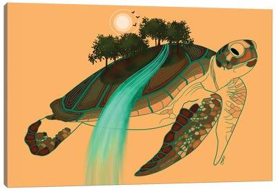 Turtle Island Canvas Art Print