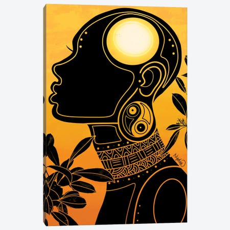 Energy Canvas Print #FRC31} by Colored Afros Art Art Print