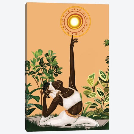 Vitamin D Canvas Print #FRC34} by Colored Afros Art Canvas Wall Art