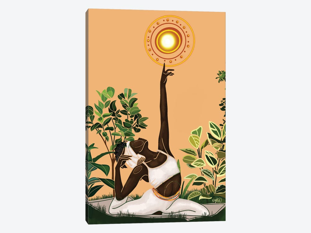 Vitamin D by Colored Afros Art 1-piece Canvas Print