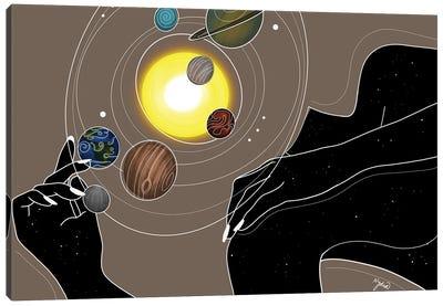 Orbit Canvas Art Print