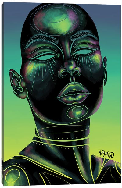 Holographic Canvas Art Print