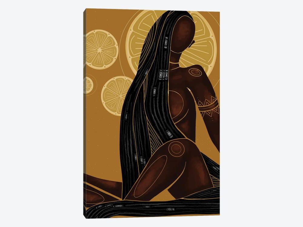 Lemonade by Colored Afros Art 1-piece Canvas Art