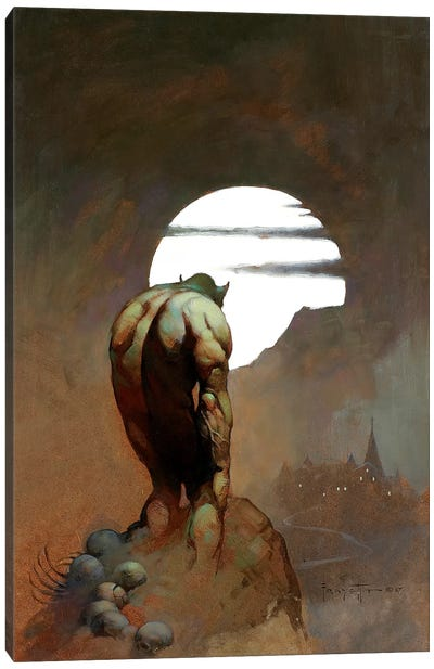 Nightstalker Canvas Art Print