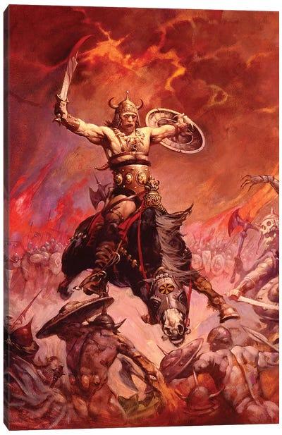The Berserker Canvas Art Print