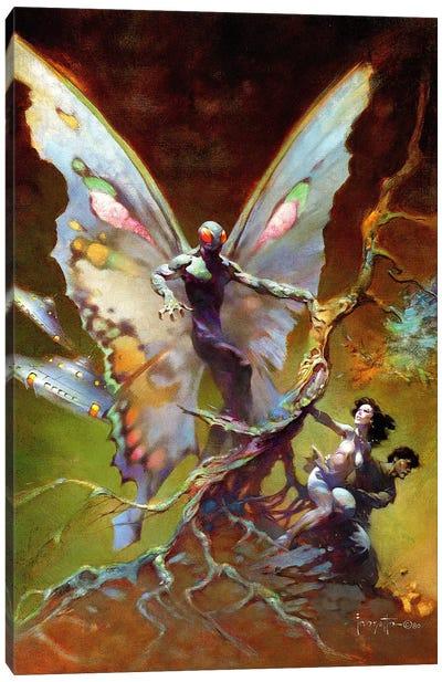 Mothman Canvas Art Print