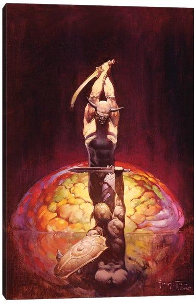 The Brain Canvas Art Print