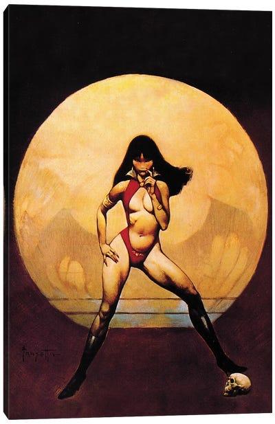 Vampirella Canvas Art Print