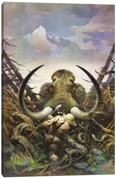 The Mammoth Canvas Art Print