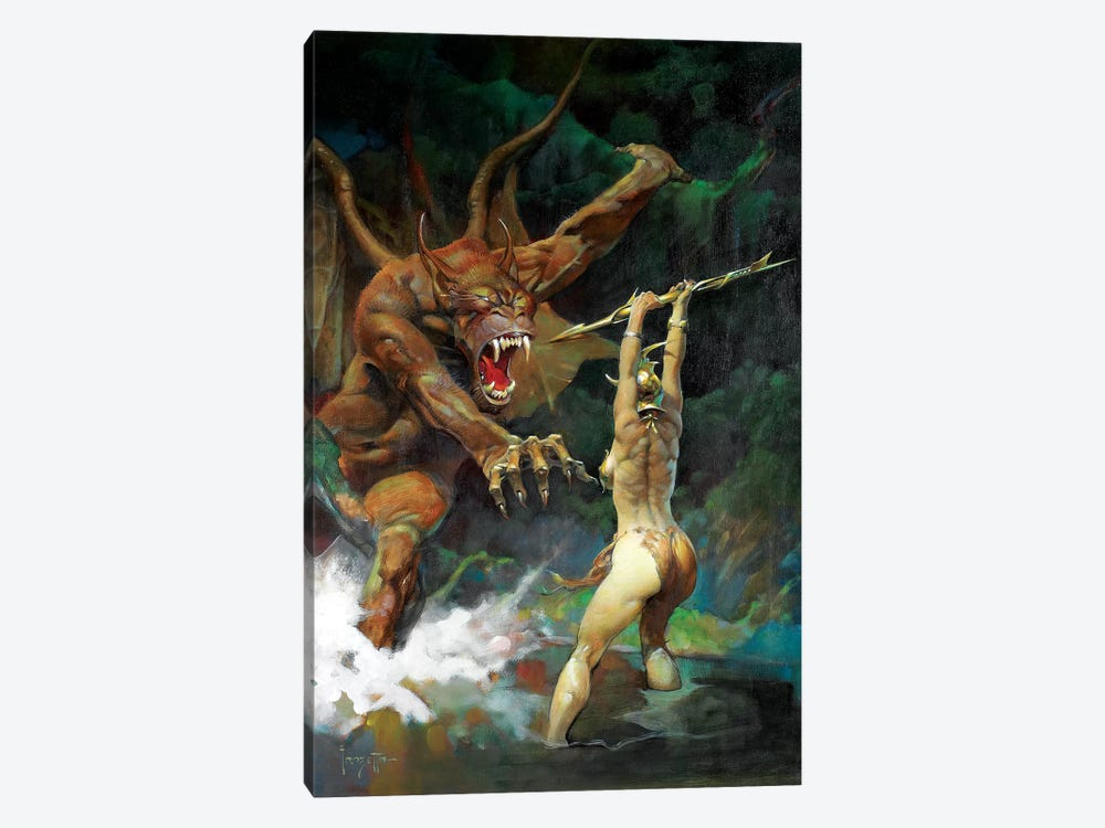 Beauty And The Beast 1-piece Canvas Wall Art