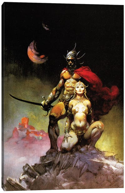 Swords Of Mars Canvas Art Print
