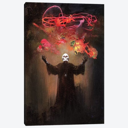 Devils Generation Canvas Print #FRF44} by Frank Frazetta Canvas Art