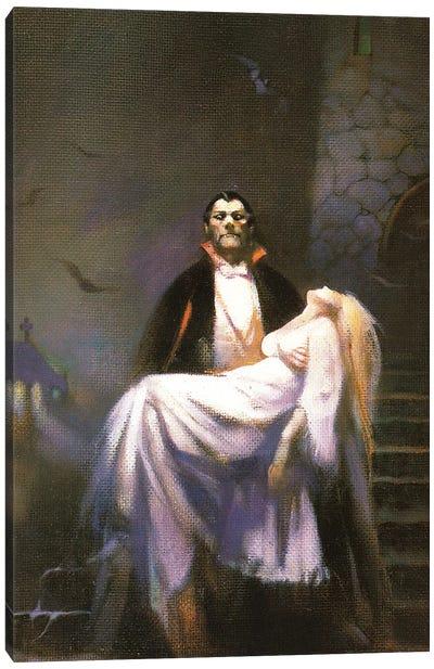 Dracula's Bride Canvas Art Print